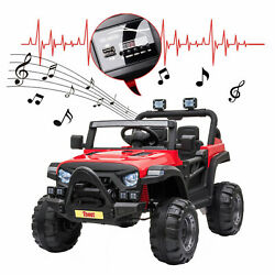 12V Electric Motorized Off Road Vehicle 2.4G Remote Control Kids Ride On Car $177.99