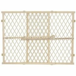Evenflo Position and Lock Baby Pet Gate Pressure Mounted Tan 26 42quot; W 2 Pack $29.01