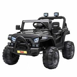 12V Kids Ride On Truck with Remote Control Battery Powered Ride on Toy Car $177.99