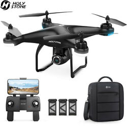 Holy Stone HS120D FPV Drones with 1080P HD Video Camera Quadcopter GPS Follow Me $175.95