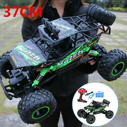Electric RC Cars 4WD Monster Truck Off Road Vehicle Remote Control Crawler Green $46.54