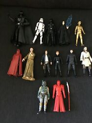 Lot of 12 Star Wars Action Figures $62.99