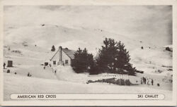 Kodiak Island AK American Red Cross Ski Chalet Alaska Unused Postcard F11 $13.99