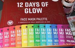 FREEMAN 12 Days of Glow Face Mask Palette $18.00