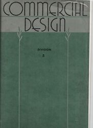 1948 Book of Commercial Design Art Instruction Inc Minneapolis Billboards etc