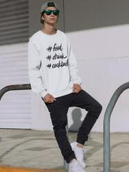 Food Drink And Cocktail Men#x27;s Sweatshirt Image by Shutterstock $24.99