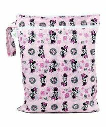 Minnie Mouse Disney Baby Waterproof Wet Dry Bag Bumkins $9.99