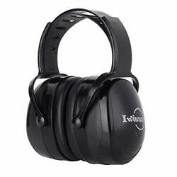 Ear Muffs Noise Reduction Safety Hearing Protection Headphones Black $33.40