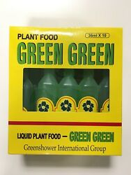 5 Bottles GREEN GREEN Plant Food Liquid Fertilizer for Lucky Bamboo and Plants $8.99