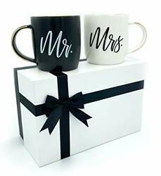 Mr and Mrs Mugs Gifts For The Couple Wedding Engagement Women Him $38.79