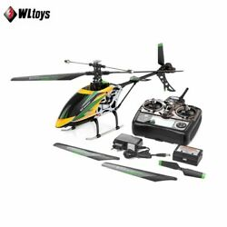 WLtoys V912 4CH Brushless RC Helicopter Single Blade Helicopter Green $169.99