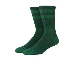 Stance UnCommon Solids Classic Joven Forest Green Crew Socks M556C17JOV FOR $14.00