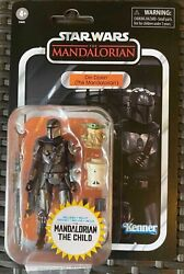 Star Wars Vintage Collection Din Djarin amp; Child Mandalorian IN HAND SHIPS NOW $42.95