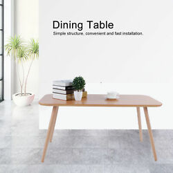 Modern Simple Style Table Wooden Table Kitchen Living Dining Room Furniture $65.12