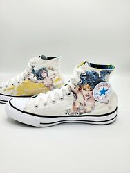 Converse All Star High Top Wonder Woman DC Comics Limited Edition Womens Size 10 $100.00