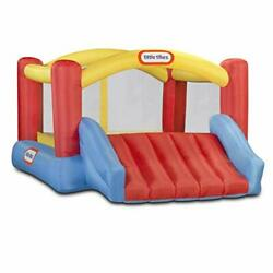 Little Tikes Jump #x27;n Slide Bouncer Inflatable Jumper Bounce House Plus Heavy $379.04
