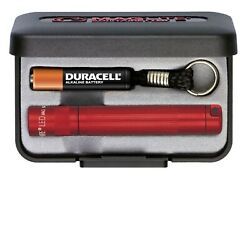 MagLite Solitaire LED AAA Flashlight Presentation Box Red $19.93