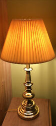 Pair Of Vintage Stiffel Brass Lamps Both Work Beautifully * Shade Not Included* $140.00