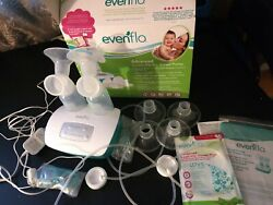 Evenflo advanced double electric breast pump $22.00