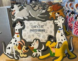 Disney Parks Dog Dogs Magnetic Photo Frame with Stand NEW $22.90
