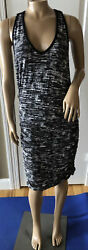 ATHLETA Women's Multi Color Ruched Maxi Dress Large $19.99