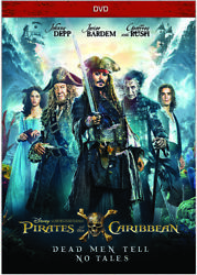 Pirates Of The Caribbean: Dead Men Tell No Tales DVD DISC NO CASE. FREE SHIP $4.99