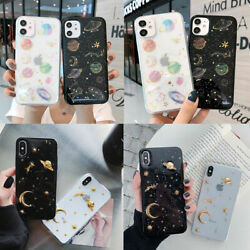 Soft TPU Stars Moon Print Phone Case Cover For iPhone 7 8 Plus XS XR 11 PRO MAX $8.99