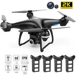 Holy Stone HS100 GPS RC Drone 2K HD 5G Wifi Camera FPV Quadcopters Follow Me NEW $129.99