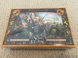 Song of Ice and Fire miniatures game: Rose Knights $80.00