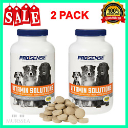 Dog Multi Vitamins For All Life Stages Health Care Chewable Tablets 180 Count $17.30