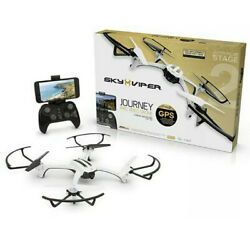 New Sky Viper Journey Pro Drone GPS Quadcopter Auto Pilot Stage 2 High Def Video $79.99
