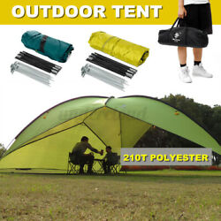 15ft Portable Large Outdoor Camping Tent Beach Canopy UV Sun Shade Shelter Bag $78.28