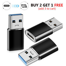 Type C Female to USB A Male Converter Adapter For iPhone 13 Pro MaxiPadSamsung $5.99