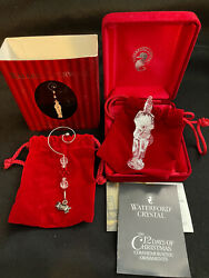 SIGNED 2006 WATERFORD ORNAMENT 12 DAYS OF CHRISTMAS TWELVE DRUMMERS DRUMMING $99.99