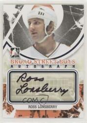 2011 12 ITG Broad Street Boys Series Black Ross Lonsberry #A RLO Auto $23.54