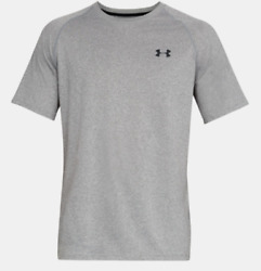 UNDER ARMOUR HEAT GEAR LOOSE FIT MEN#x27;S SHIRT GRAY SMALL = NWT $18.99