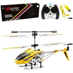 Cheerwing Syma S107 S107G Phantom 3CH 3.5 Channel Mini RC Helicopter with Gyro $37.66
