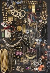 Jewelry Vintage Modern Huge Lot Craft Wearable 5 POUNDS $30.00