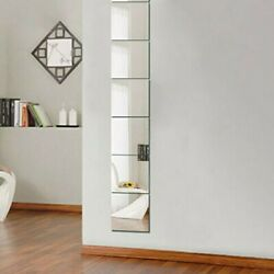 6*Mirror Wall Sticker For TV Setting Wall Sofa Setting Wall Dining Room C $21.92