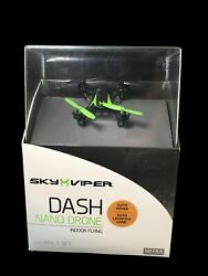 New Sky Viper Dash Nano Drone Indoor Flying Auto Hover Auto Launch amp; Land $15.00