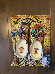 Crocs x Grateful Dead Classic Clog Size 12 Mens IN HAND FAST SHIPPING $100.00