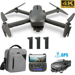 Holy Stone HS470 RC Drone with 4K HD 2 Axis Gimbal Camera Foldable Brushless GPS $169.99