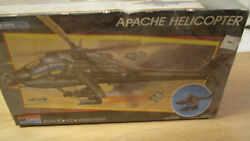Vgt 1988 Monogram Apache Helicopter 1:72 Snap Tite Model Kit #11327 Unopened $15.00
