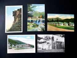 New Hampshire Postcards Old Man Of The Mountain Profile House amp; More Unused $13.75