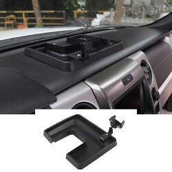 Multifunction Phone Holder with Storage Tray Mount for Ford F150 2009 2014 Black