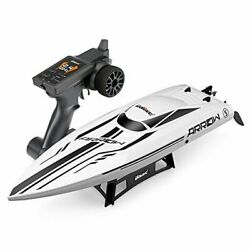 RC Brushless High Speed Boat Large Racing Remote Control Boat Off whiteblack $283.53