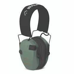Walker#x27;s Razor Slim Shooter Folding Ear Protection Muffs with NRR of 23dB Green $27.99