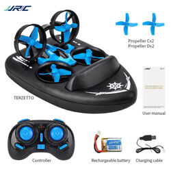 JJRC H36F 3 in 1 Mini RC Drone Boat Car 2.4G 6 Axis Kids Toy Quadrocopter $26.57
