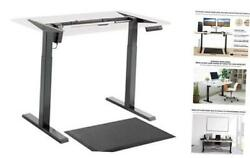 Electric Standing Desk Frame Standing Desk Base with Single Motor Height $302.99