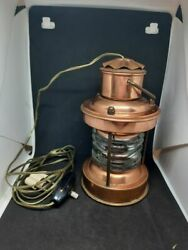 Vintage electric hanging lamp working made in Holland. $49.50